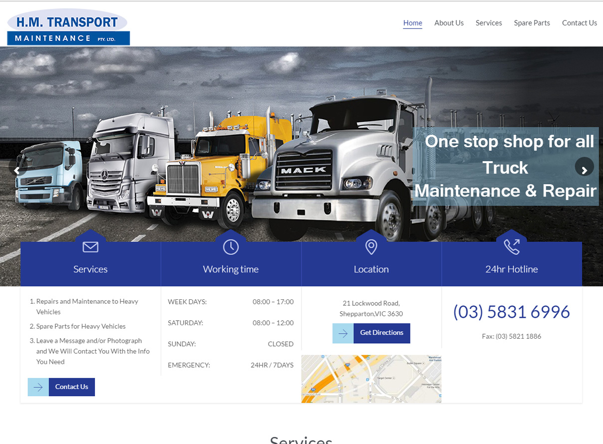 HM Transport & Maintenance shepparton