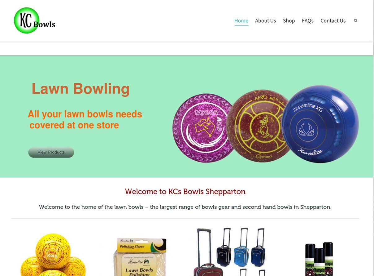 KCs bowls shepparton website