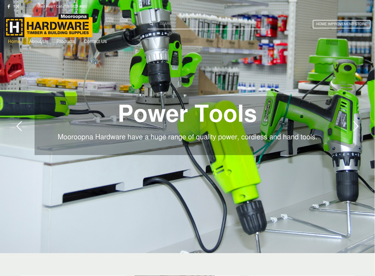 Mooroopna Hardware website link