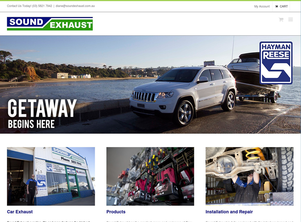 Online exhaust shop australia